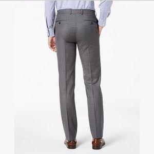 Calvin Klein Slim Fit Gray Dress Pants